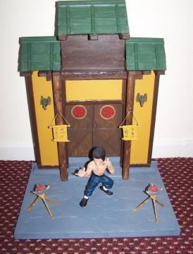 Bruce lee Enter the Dragon diorama