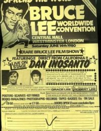 $_12Very Rare UK 1980 BRUCE LEE CONVENTION Advert